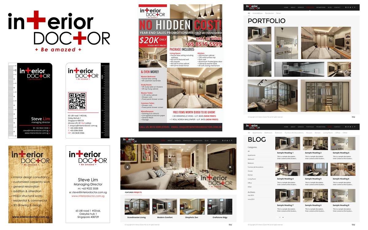 Web Design & Development Singapore - Design IT Print By